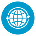 International collaboration logo